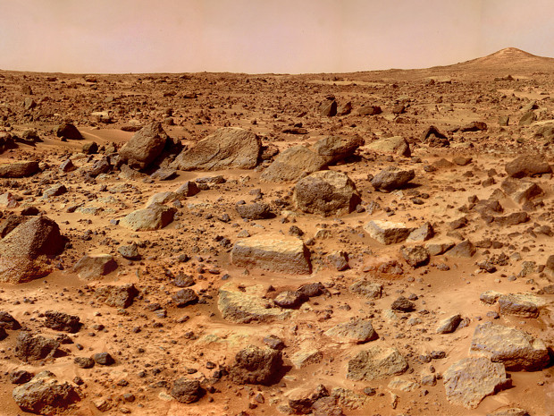 Mars doesn't look to hospitable to life now, does it?