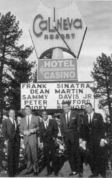The Rat Pack at Cal Neva