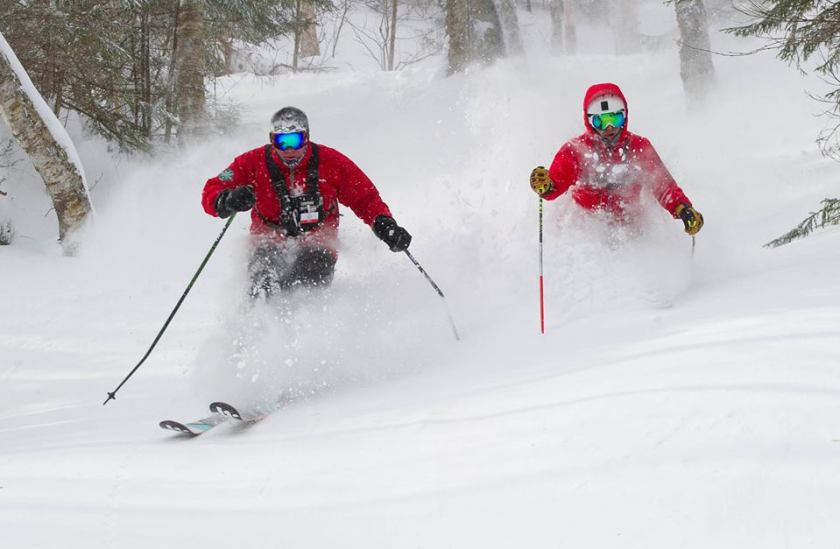 Powder day at Mad River, New England, mad river glen