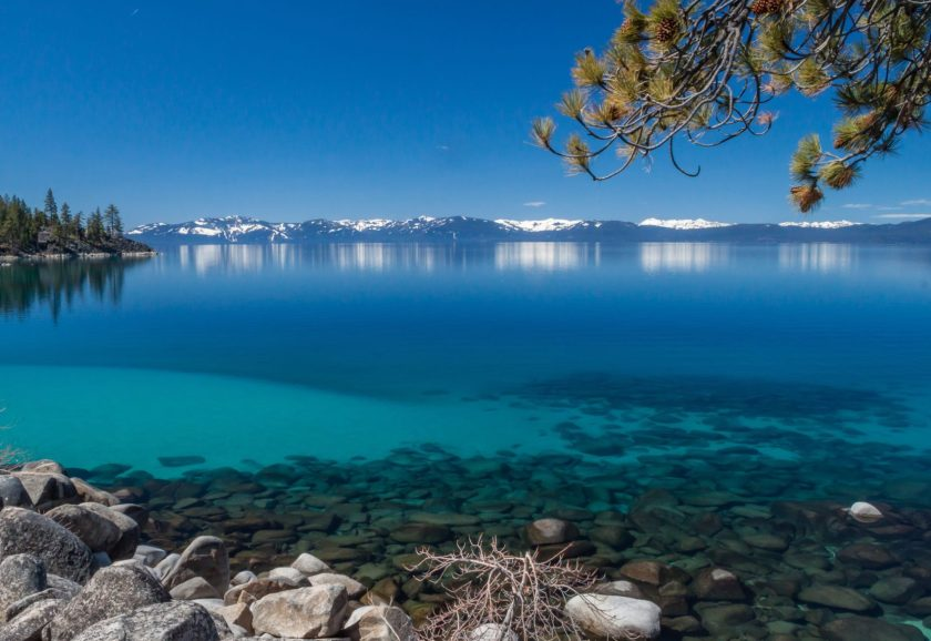 Lake Tahoe, clarity, tahoe, California, Nevada,