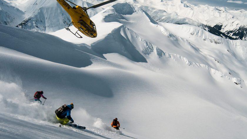 heli-skiing, Alaska,