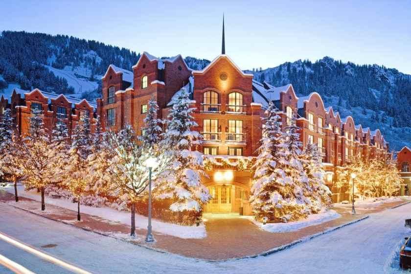 The St. Regis Aspen Resort, open since 1992.