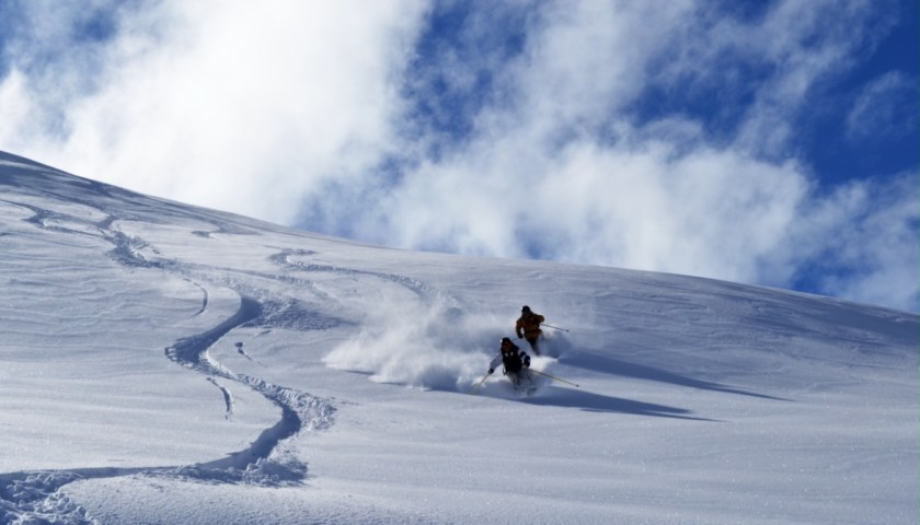 valle nevado ski chile snow valle death squad
