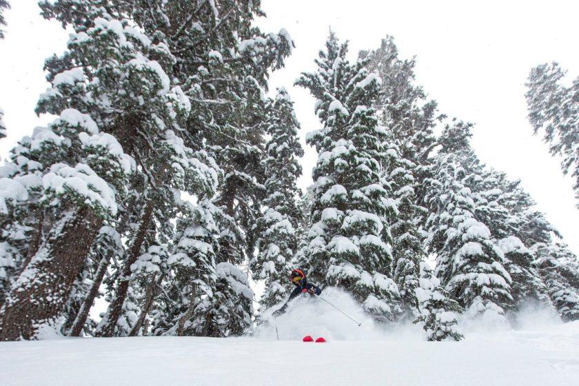 kirkwood, california, snowpack, snowfall