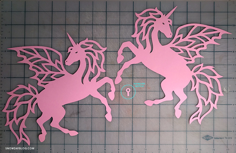 DIY Unicorn Two Cut