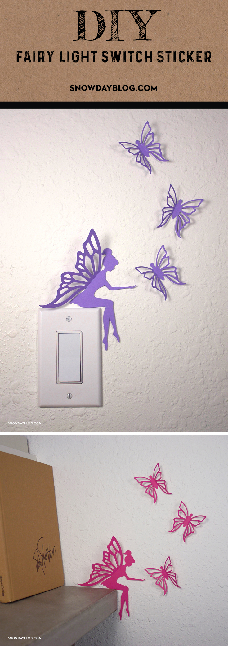 LightSwitch Fairy Pinterest Purple