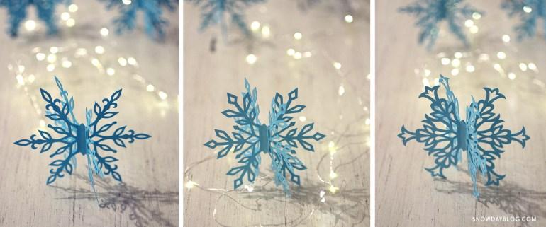 Snowflakes 3 Panel