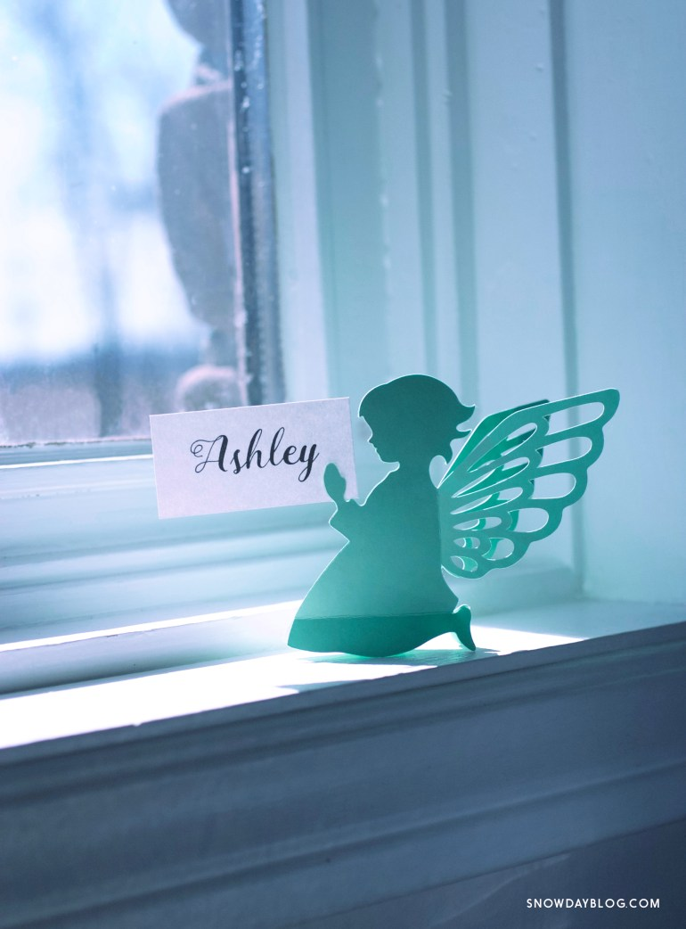Girl Angel Mint