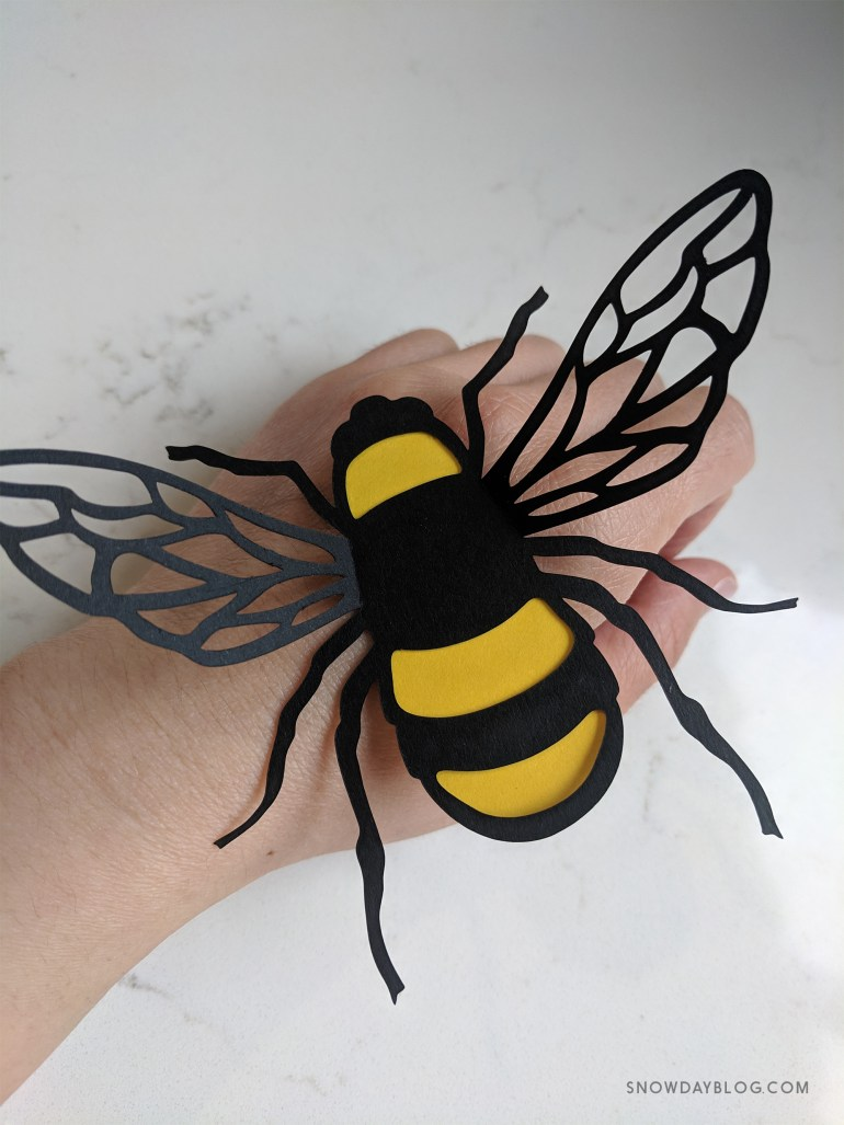 Bees Hand 1