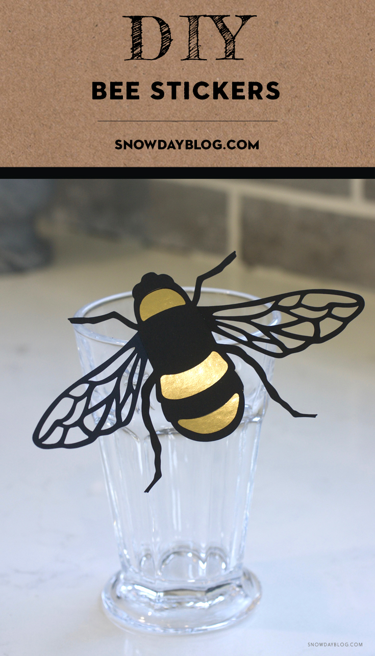 Bees Pinterest Gold