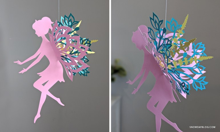 DIY Flower Garden Fairy