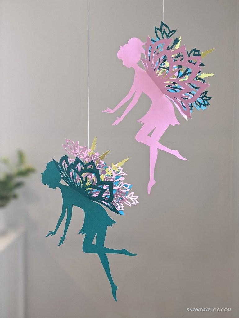 DIY Flower Garden Fairy Pink and Teal