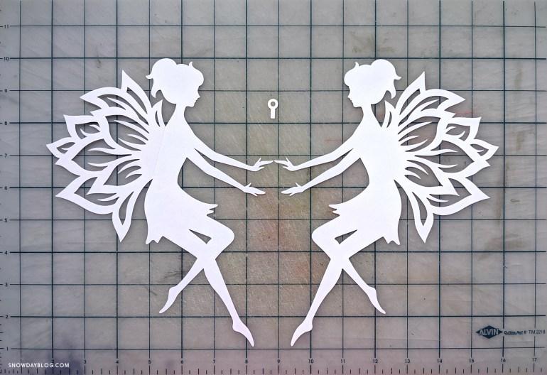 Two cut fairies