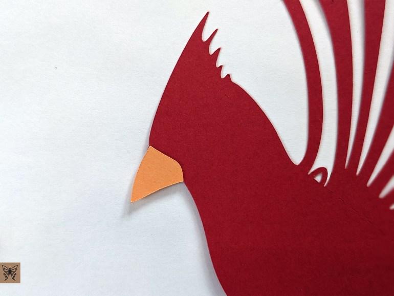 cardinal beak