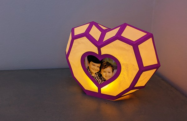 Heart lantern SVG, Heart Photo Frame, Valentines Craft