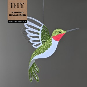 Hummingbird SVG