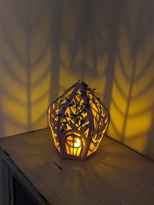 fairy house lantern svg