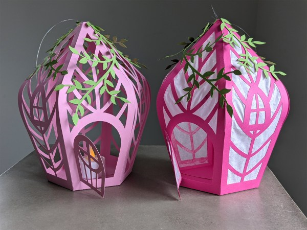 two types of fairy houses