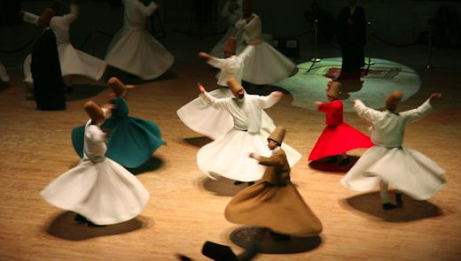 Whirling Dervishes of the non-naked variety.