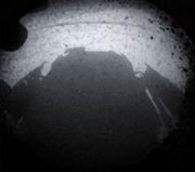 First Mars Shadow. Photo by Curiosity