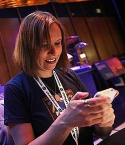 Susan Bell, Tweet-up expert.