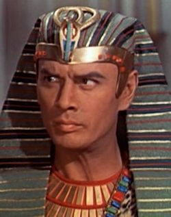 Yul Brynner as Pharaoh, The Ten Commandments (1956)