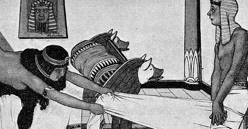 Joseph and Potiphar's wife. J. Kuhn-Regnier 1910
