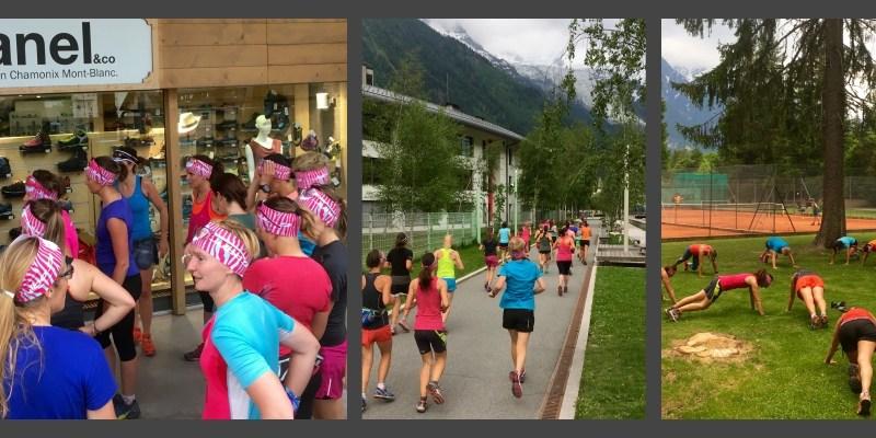 Training session 100% féminine avec Julbo à Chamonix