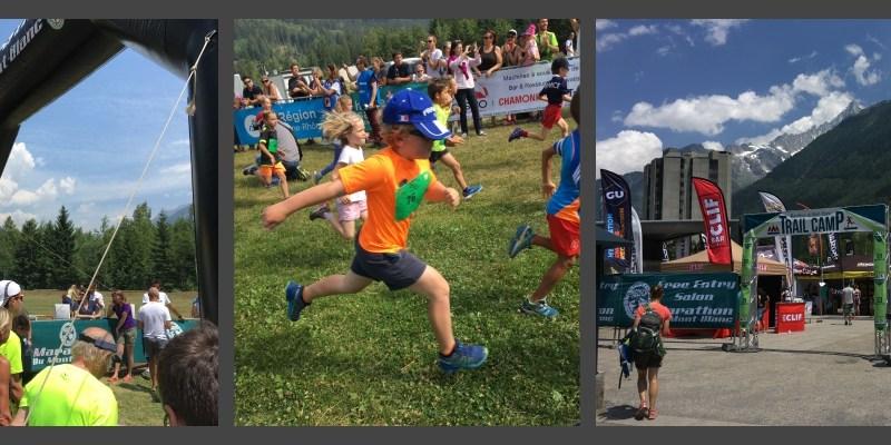 En famille à Chamonix pour le Marathon du Mont-Blanc 2017