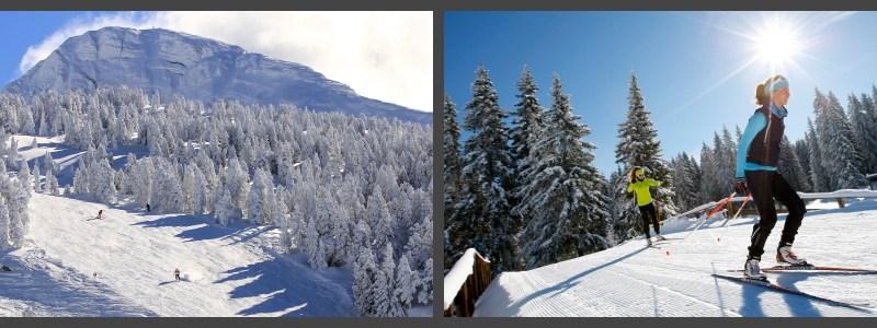 Les domaines alpins et nordiques ouverts le 9/10 décembre 2017