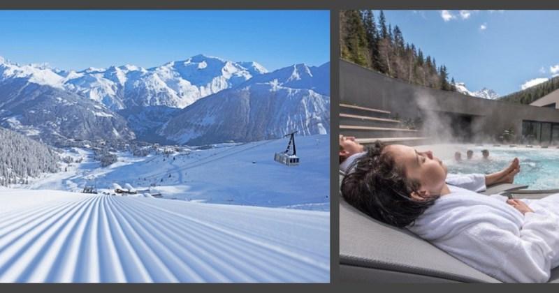 Exclusivité snowflike : ouvrez la combe de la Saulire à Courchevel puis détendez-vous à l'Aquamotion