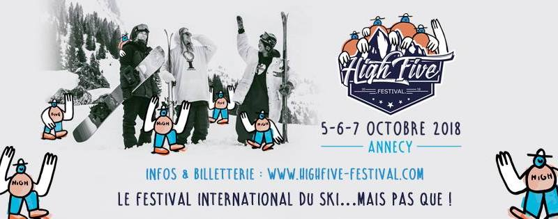 Tous au High Five Festival du 5 au 7 octobre à Annecy