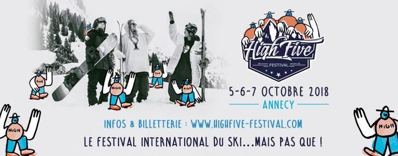 Tous au High Five Festival du 5 au 7 octobre à Annecy