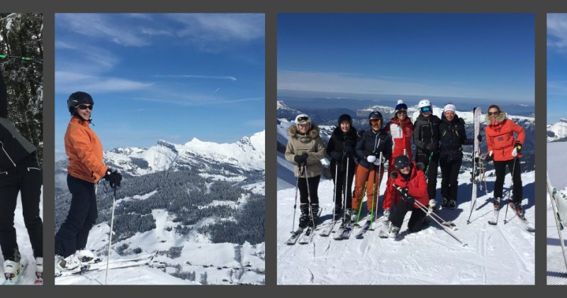 Les cours de ski 100% filles à La Clusaz, c'est reparti !