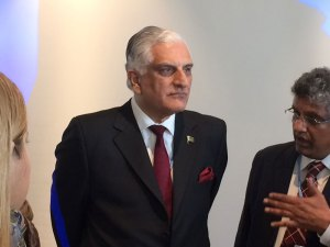 Mr Zahid Hamid, Climate Change Minister from Pakistan and Chair of the GSLEP Steering Committee