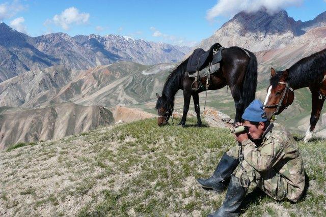Snow Leopard Vodka helps empower wildlife rangers in Kyrgyzstan