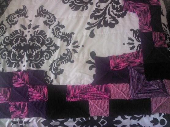 Section from La vie en rose et violet