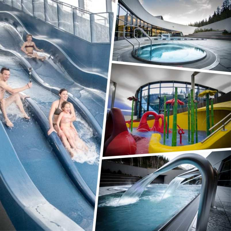 Aquamotion Courchevel's Swimming and wellness complex