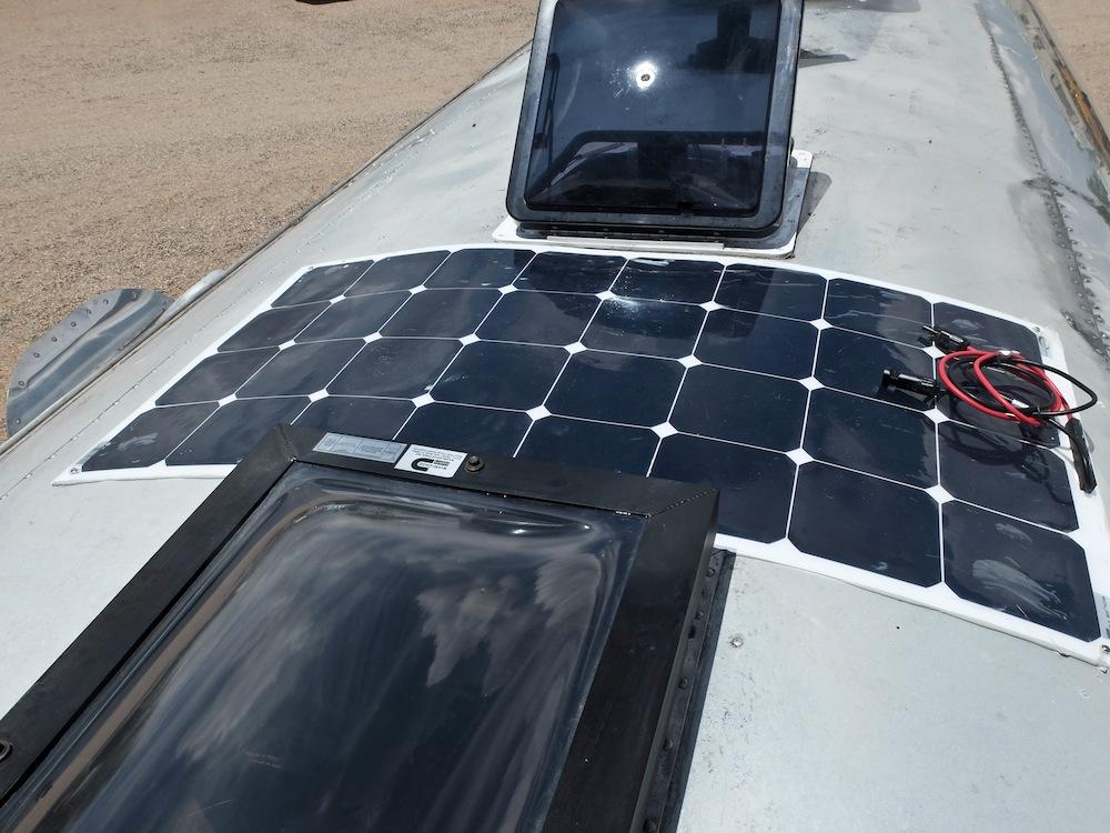A Do-it-Yourself Airstream Solar Installation with Go Power! Solar Flex Panels