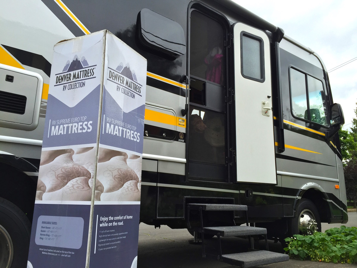 yearning to rest easy in your rv our denver mattress review