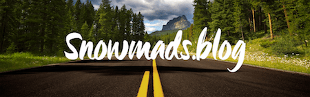 Snowmads logo road copy