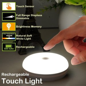 rv battery touch puck light