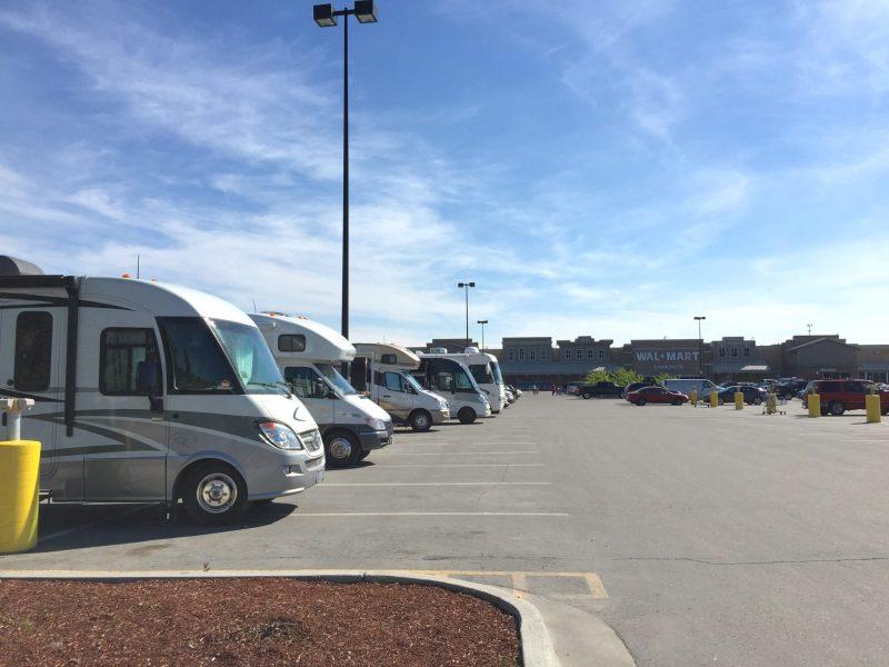 Walmart free rv parking