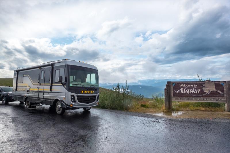 Trek RV in Alaska