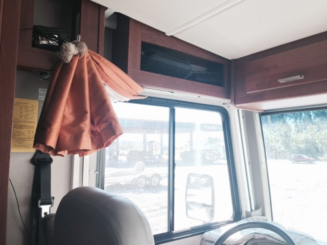 Trek motorhome curtains