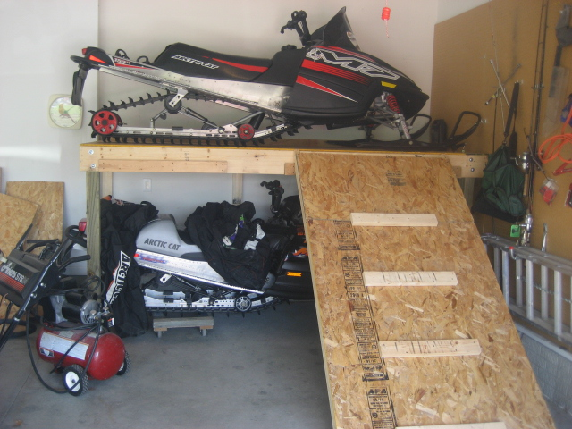 As soon as I stopped to view the racking I knew this was an amazing find. Summer Storage Snowmobile Fanatics