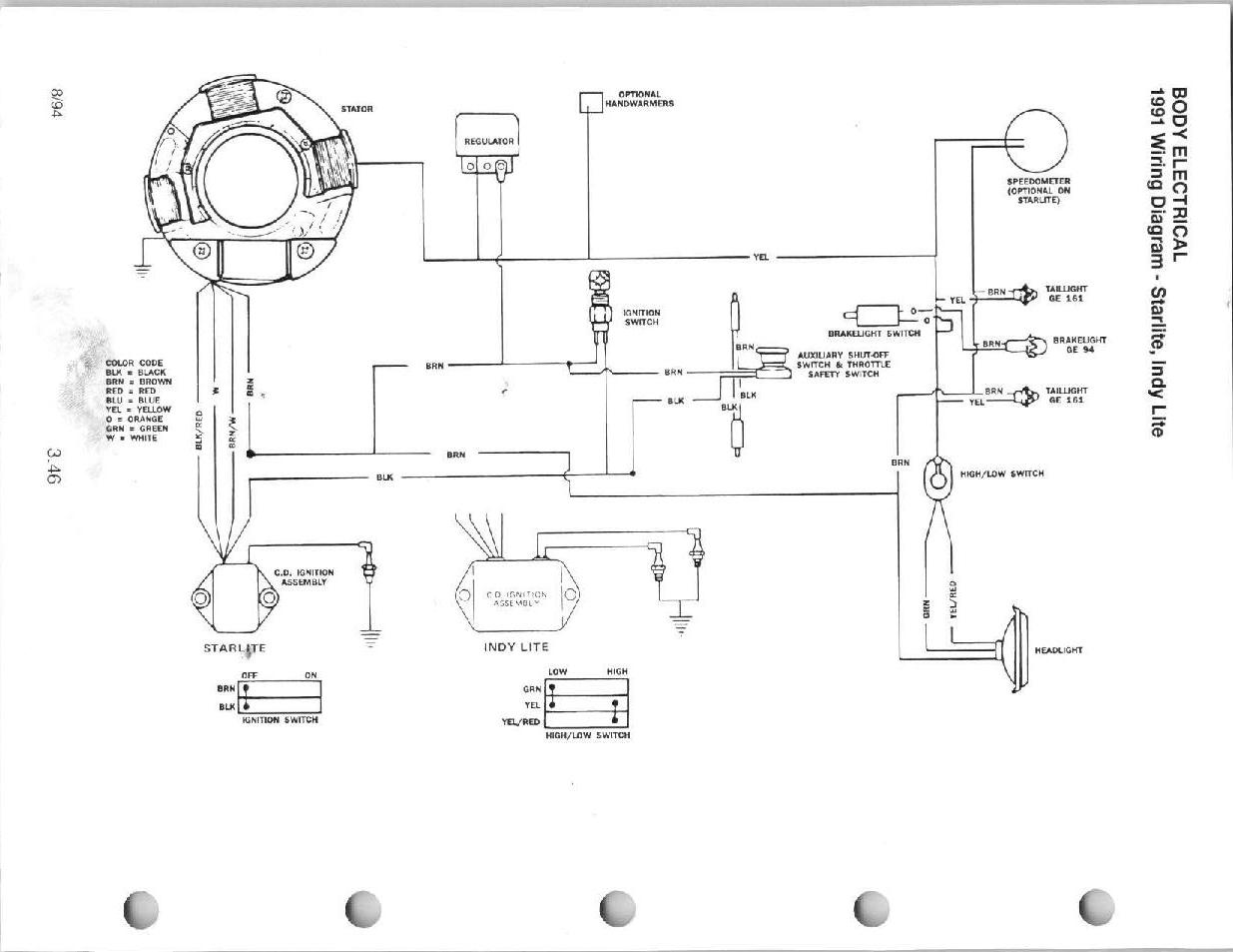 Polaris 500 Ho Wiring Diagram. Parts. Wiring Diagram Images