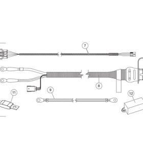 Western Tornado Salt Spreader 151825 Cu Yd Parts  SnowplowsPlus