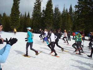 10-kilometer women starting their race
