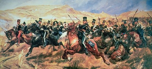 The Charge of the Light Brigade by Richard Caton Woodville, Jr. Source: Wikipedia